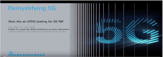 Demystifying 5G – Creating far-field conditions at short distances for 5G over the air testing