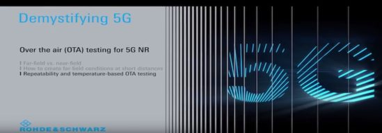 Demystifying 5G – Repeatable and temperature-based 5G NR OTA testing