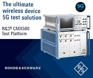 R&S CMX500 - The Ultimate Wireless Device 5G test solution