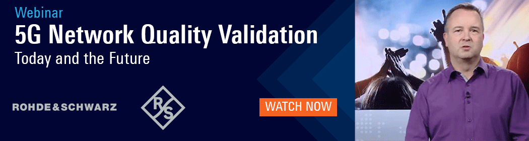 Webinar: 5G Network Quality Validation