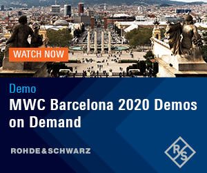 MWC 2020 Demos by Rohde & Schwarz